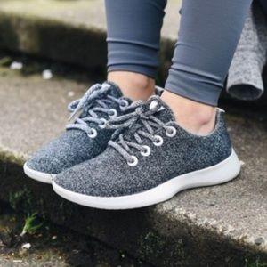 Never Worn Allbirds Gray Wool Runners / Sneakers